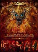 Gamma Ray ** Hell Yeah! - The Awesome Foursome 3DVD ** 24.10.2008